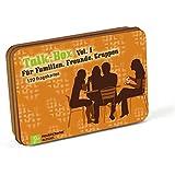 Talk-Box Vol. 1 - Für Familien, Freunde und Gruppen. 120 Fragekarten in Metalldose