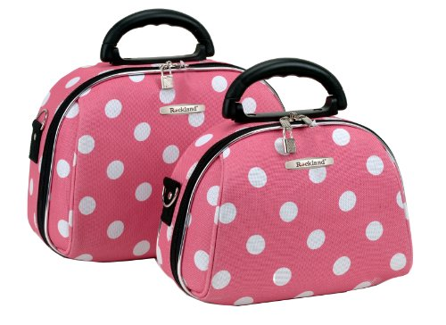 rockland-luggage-rockland-2-piece-cosmetic-set-pink-dot-one-size