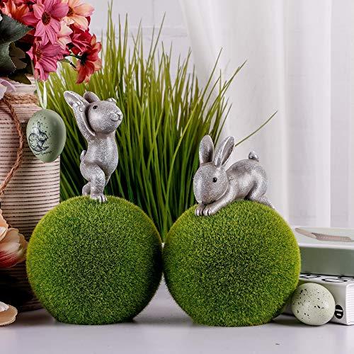 JoyPlay Easter Yard Sign Set di picchetti per Uova allaperto Set di 8 Decorazioni per Uova di Pasqua con Uova di Pasqua per Bunny Party Home Decor