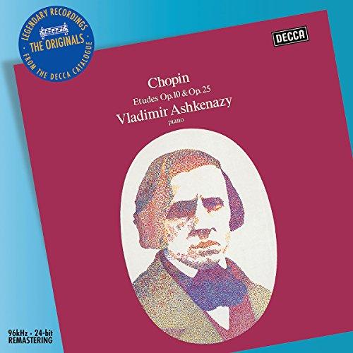 CHOPIN - Ashkenazy - Etudes op. 10 et 25