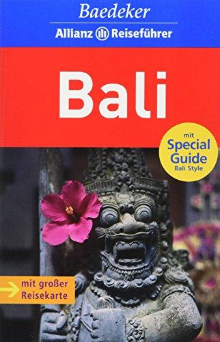 Bali mit Karte
