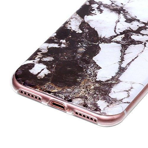 3 pcs Caso Soft per iPhone 7 / 8, Asnlove Morbida Elegante Custodia Ultra Sottile TPU Gomma Gel Cassa Motif di Colore Case Antiurto TPU Silicone Trasparente Cover Posteriore, Gruppo-4 Gruppo-5