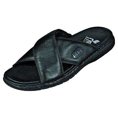 Rieker Schuhe Herren Sandalen Pantoletten Clogs 25588, Schuhgröße:44;Farbe:Schwarz