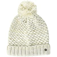 Roxy the Shoppeuse Gorro, Mujer, Blanco (Marshmallow Solid), Talla Única