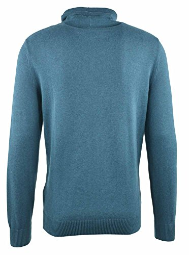 TOM TAILOR Herren Pullover 100% Baumwolle rock oil