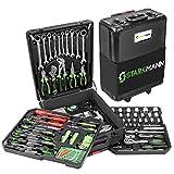 STARKMANN Blackline 399tlg. Premium Werkzeugkoffer Werkzeug Box Kasten im abschließbaren