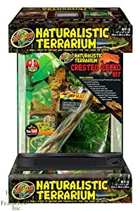 Zoo Med Naturalistic Terrarium - Crested Gecko Kit