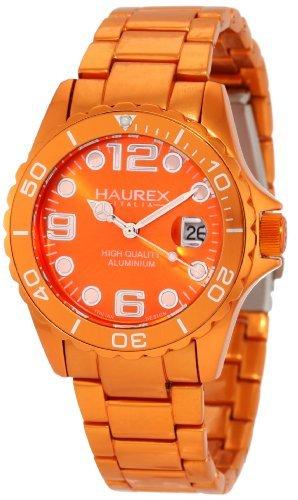 Haurex Italy Haurex Italia Inchiostro Orange Alluminio Ladies Orologio 7K374DOO