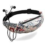 LMRYJQ Wild Mode 3D Digitaldruck Taschen Brusttasche Bunte Gürteltasche Wasserdichte Reise Gürteltasche Handy Hüfttasche Gürteltasche