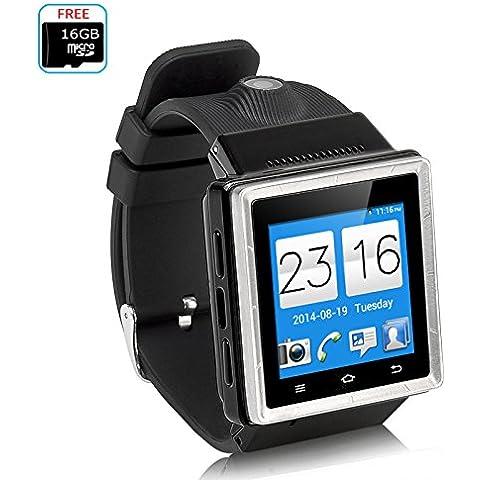 zgpax S6Orologio Telefono–3G, Android 4.4, Processore Dual Core, GPS, Wi-Fi,