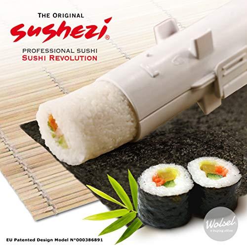 Entretenga a sus invitados con el sushi perfecto en todo momento con el Sushi Bazooka. Todo lo que necesita son tres pasos sencillos para proporcionar rollo tras rollo de sushi perfecto que aturdirá y sorprenderá a sus invitados. Tha bazooka viene co...