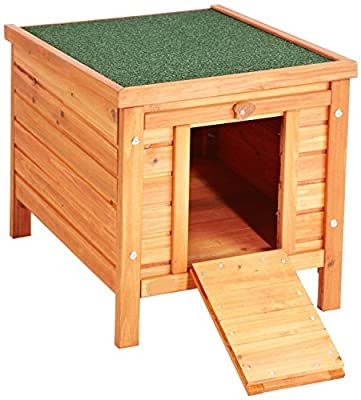 VivaPet Cat /Puppy /Rabbit /Guinea Pig Wooden Hide House - 50 x 42 x 43cm