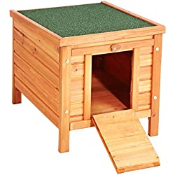Casa exterior de madera