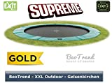 Bodentrampolin Supreme Ground grün