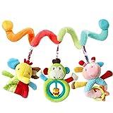 Ruiting 1 Stücke Neugeborenen Baby Hängende Rasseln Bett Kinderwagen Krippe Handbells Wind Glocke Halloween Weihnacht Geschenk Spielzeug