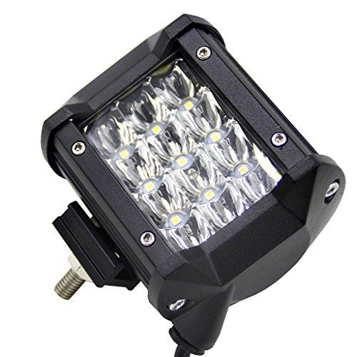 Preisvergleich Produktbild Sharplace 36W LED Licht Bar Arbeitslicht LKW Auto Traktor Outdoor Suchscheinwerfer Flutlicht Fahrlicht LED Lichtleiste Inkl. Befestifungwinkel