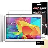 TECHGEAR [5 Pack] Protection d'Écran pour Galaxy Tab 4 10.1, Film de Protection Écran Ultra Clair avec Chiffon et Carte d'Application Compatible pour Samsung Galaxy Tab 4 10.1 Pouces (SM-T530)