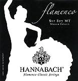 Hannabach Cordes de guitare classique Série 827 Medium tension Flamenco Classic Jeu de 3 Basses