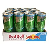 Red Bull Lime Sugarfree 12x250 ml Dose (Energy Drink Limette zuckerfrei ) BE/NL