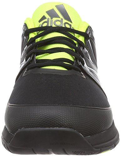 adidas Stabil Boost, Chaussures de Handball homme Noir (Core Black/Solar Yellow/White)