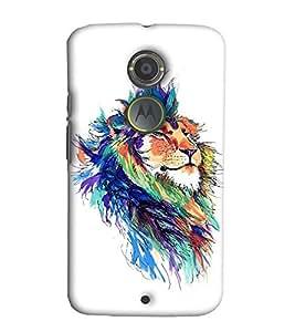 EagleHawk Designer 3D Printed Back Cover for Motorola Moto X2 - D453 :: Perfect Fit Designer Hard Case
