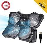 KLIMTM Wind - Refroidisseur Ordinateur Portable + Le Plus Puissant + Refroidissement Ultra Rapide +...
