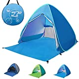 Best Tent For Rains - Pop-up Beach Tent Portable 2-3 Person Automatic Instant Review