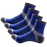 Sasairy Calcetines Hombre Calcetines Deportes Calcetines Trekking Gruesos Protección para Tobillo Ideal para Aire Libre Senderismo Footing Running