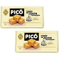 Picó - Pack incluye 2 Turron de Jijona Artesano - Turron blando caja madera - Calidad suprema 300gr