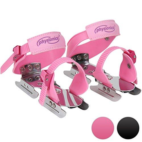 Physionics–ehslsh06pink–Schlittschuhe Kinder größenverstellbar (24–34)–Pink–Zwei Farben zur Auswahl
