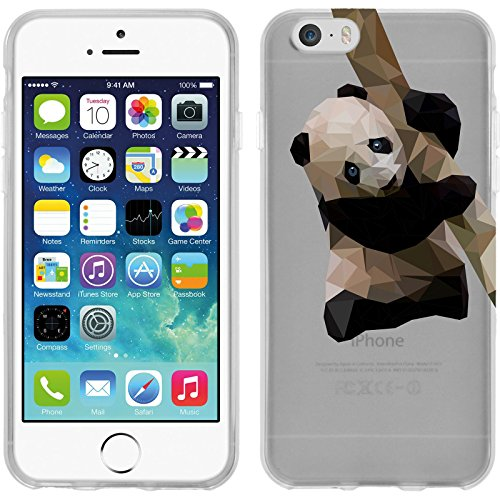 PhoneNatic Apple iPhone 6 Plus / 6s Plus Coque en Silicone animaux vecteur M2 Case iPhone 6 Plus / 6s Plus + films de protection Motif 4