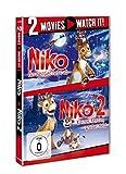 Niko – Ein Rentier hebt ab / Niko 2 – Kleines Rentier, großer Held [2 DVDs]