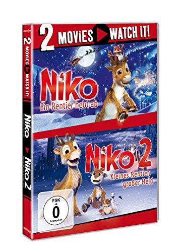 Niko - Ein Rentier hebt ab / Niko 2 - Kleines Rentier, großer Held [2 DVDs]