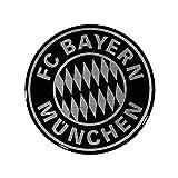 3D Aufkleber Logo schwarz FC Bayern München etiqueta engomada / Sticker / autocollant 3D Sticker, Autoaufkleber FCB