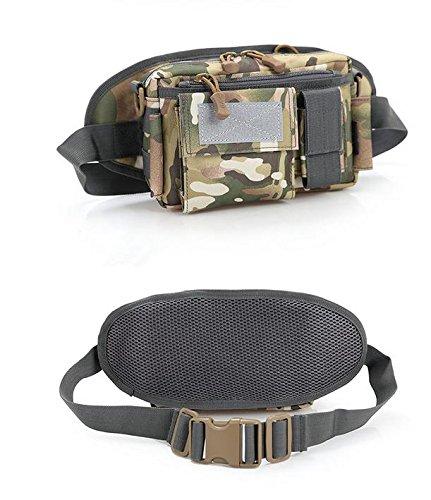 &zhou Kleine Taschen für Verwendung im freien Männer und Frauen kombiniert Geldbörsen Bewegung Schulter Umhängetasche desert