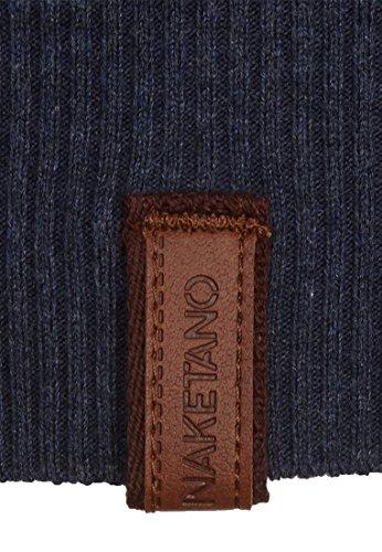 Naketano Female Knit Gespreizt wie Gereizt II Bluegrey Melange