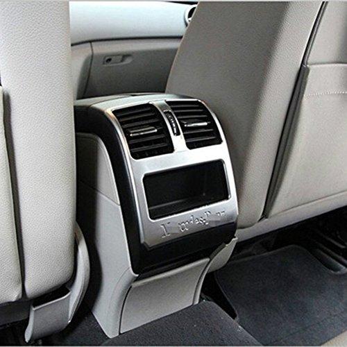 Innen Chrom Klimaanlage Outlet Cover Trim Auto Zubehör Auto Styling Deko