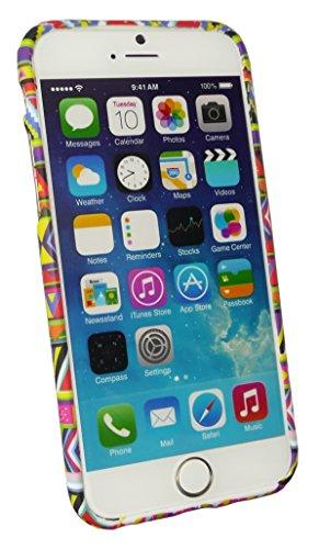 Emartbuy® Apple Iphone 6 6G 6S 4.7  Pollice Case Cover Custodia In Gel Paws Azteco Print Gel