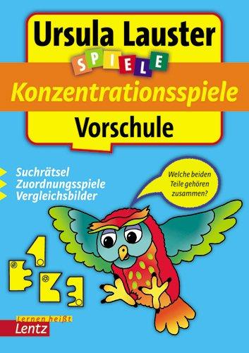 Konzentrationsspiele Vorschule: Suchrätsel, Zuordnungsspiele, Vergleichsbilder