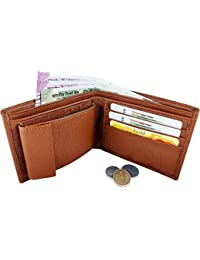The Accessories Store Artificial Leather Branded Wallet Tan Wallet For Men With Free Card-older Wallet