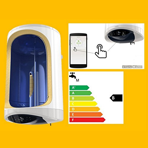 Elektro Warmwasserspeicher Boiler 20/80/100 L Liter 1,6-2,4 kW ECO Smart Funktion Keramikheizelement - EEK B - Heizzeitprogramme AppSteuerung