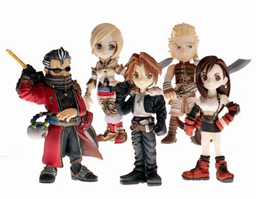 Abysses Corp - MFGSQX010 - Figurines - Final Fantasy Series - Trading Arts Mini Vol.2 (Set Of 4 Figures)