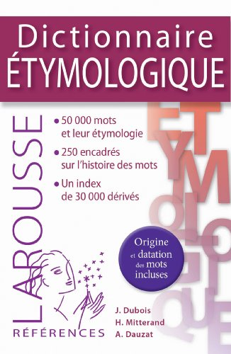 Dictionnaire étymologique
