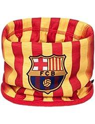 Buff Polar FC Barcelona - Braga de cabeza para hombre, color amarillo, talla 24 cm