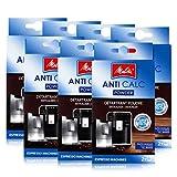 7x Melitta Anticalc Espresso Machines