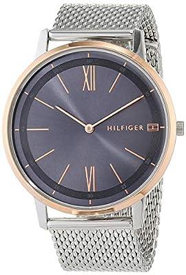 Tommy Hilfiger Reloj Analógico para Hombre de Cuarzo con Correa en Acero Inoxidable 1791512
