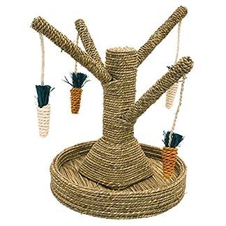 Rosewood Small Animal Activity Toy Bunny Fun Tree Boredom Breaker 7