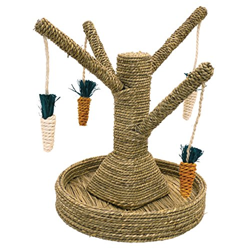 Rosewood Small - Juguete para conejos mascota, diseño de...