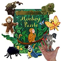 Monkey Puzzle - Book and Finger Puppets Set