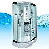 AcquaVapore DTP8060-7003L Dusche Dampfdusche Duschtempel Duschkabine -Th. 120x80, EasyClean Versiegelung der Scheiben:2K Scheiben Versiegelung +89.-EUR
